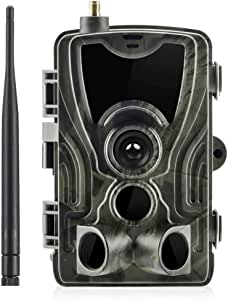 Generic002 4G Infrared Camera Wildlife Trail Camera, Hunting Game Camera 120°Wide Angle 1080P 16MP, IP65 Waterproof, Infrared Night Vision up to 65ft/20m, 0.3S Trigger Time