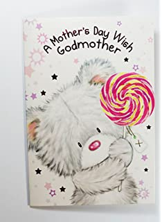 Funny Godmother Mothers Day Card Blank Inside for Your Own