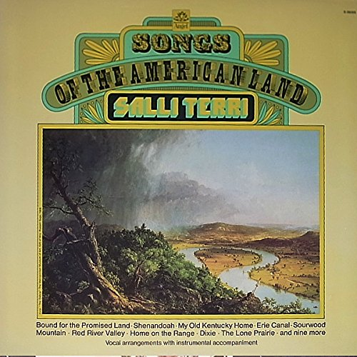 Canal Stereo (Songs of The American Land / Salli Terri With The Jack Halloran Quartet: Tracklist: Bound For The Promised Land. Cross The Wide Missouri.	 On Springfield Mountain. El-A-Noy. My Old Kentucky Home.	 Sacramento. Colorado Trail. Erie Canal. .Home On The)
