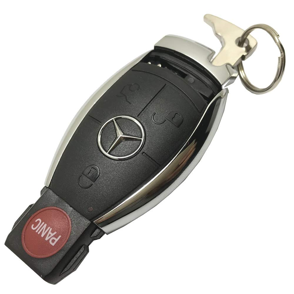 Cl CLK Cases C E S CLA CLS ML GL GLK CLK SLK Class Key Fob Cover Shell No Chip Horande Replacement Smart Key Fob Case fits for Mercedes-benz C