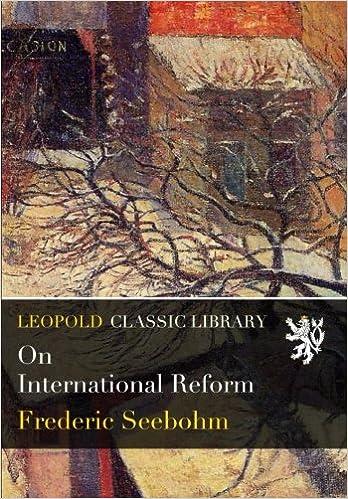Book On International Reform