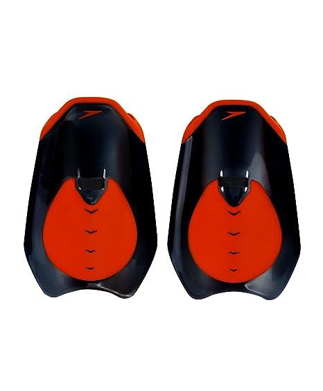 Speedo Unisex Fastskin Hand Paddle - Black/Red, One Size