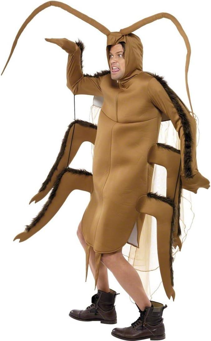Cucarachas cucaracha traje traje marrón de insectos disfraz ...