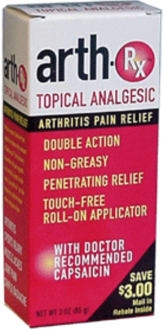 Arth-Rx Topical Analgesic Arthritis Pain Relief Lotion 3 oz (Pack of 12)