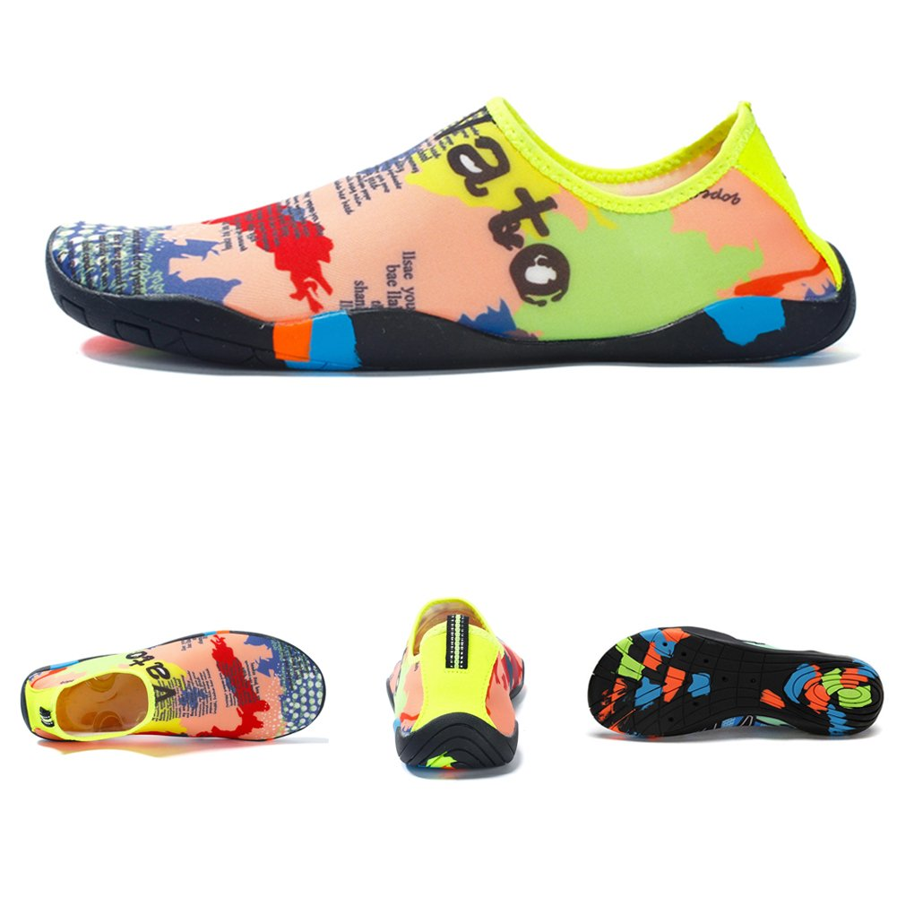 Z-Dawn Water Shoes for Mens Womens Barefoot Beach Swim Shoes Quick-Dry Aqua Socks Pool Shoes for Surf Yoga Exercise