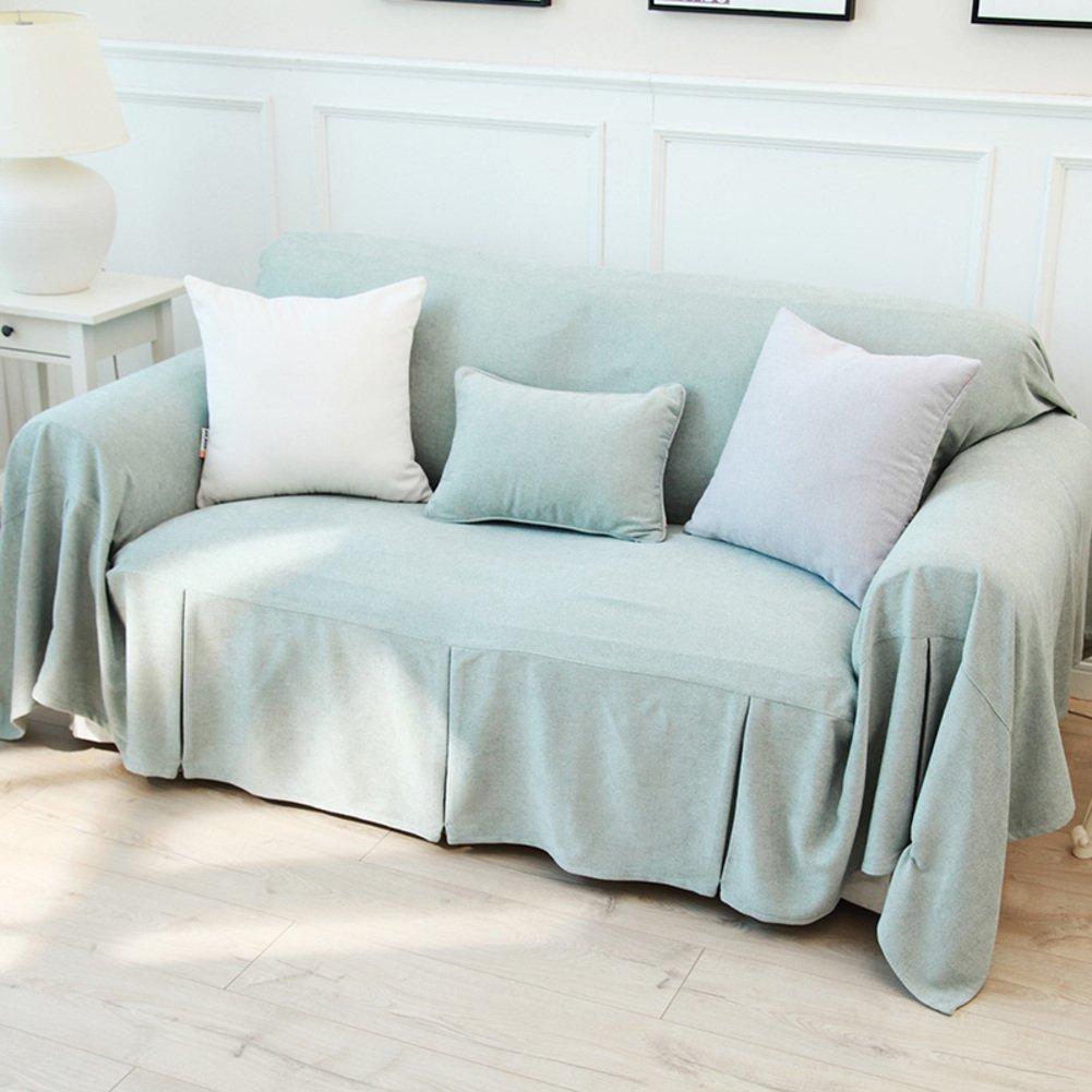単色 な ソファ カバー,耐摩耗性 柔らかいソファーの slipcover,アンチ スリップ リビング ルームのソファーの slipcovers-D 300*200cm 300x200cm(118x79inch) D B07PHKBDFB