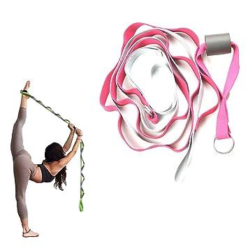 WYQWAN Yoga Strap - para Terapia Yoga Pilates Rehabilitación ...