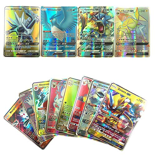 PUNIDAMAN Gx Ex Cards Poke Mon Cards Trainer for Children Toy Must Have Tools 7 Year Old Girl Gifts Toddler Favourite Superhero Toy Unboxing (Pokemon Charizard Card Old)