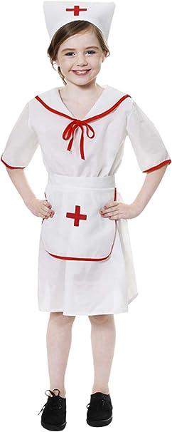 Girl - Disfraz de enfermera para niña, talla M (7-9 años) (U24013 ...
