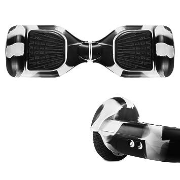 Jansroad Full-Body Protector de Silicona para 6,5 Pulgadas Smart Dos Ruedas Auto Equilibrio eléctrico Scooter, fácil Instalar y Limpia