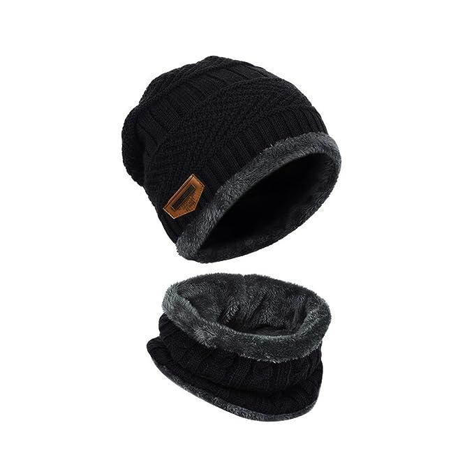 LvLoFit Cappello Morbido e Caldo Lavorato a Maglia e Cerchio Sciarpa per Le  Donne Vestito Uomo dd700be349e3