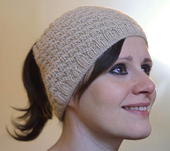 Fascia per capelli fatta a mano. Fascia in LANA realizzata in maglia ai  ferri. eec9f7ab994b