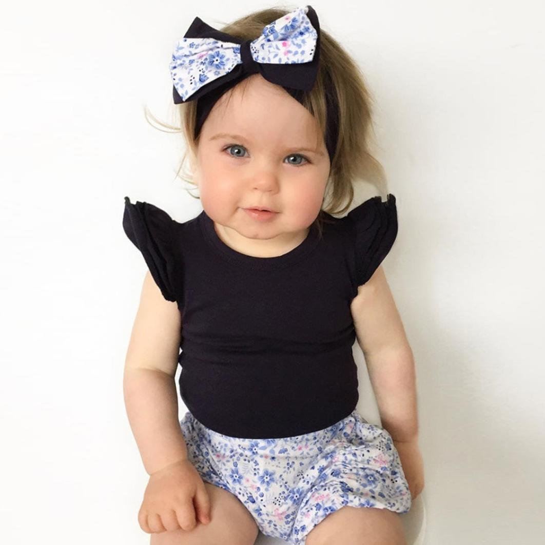 0c9ffd6a9b8 Sixcup for 0-24 Month Baby Bodysuit Newborn Infant Baby Girls Vest Cotton Clothes  Ruffles Sleeveless Romper Jumpsuit Playsuit Outfits Clothes  Amazon.co.uk   ...