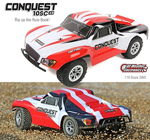 Helion Conquest 10SC XB 2WD 1 10 Scale RC Short Course Truck - Built to Blast