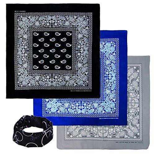 basico-bandanas-value-pack-100-cotton-paisley-head-wrap-with-tube-face-mask-headband-3pk-black-blue-
