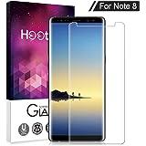 Protector de pantalla Samsung Galaxy Note 8, Hootech Cristal Vidrio Templado Premium Para Samsung Galaxy Note 8