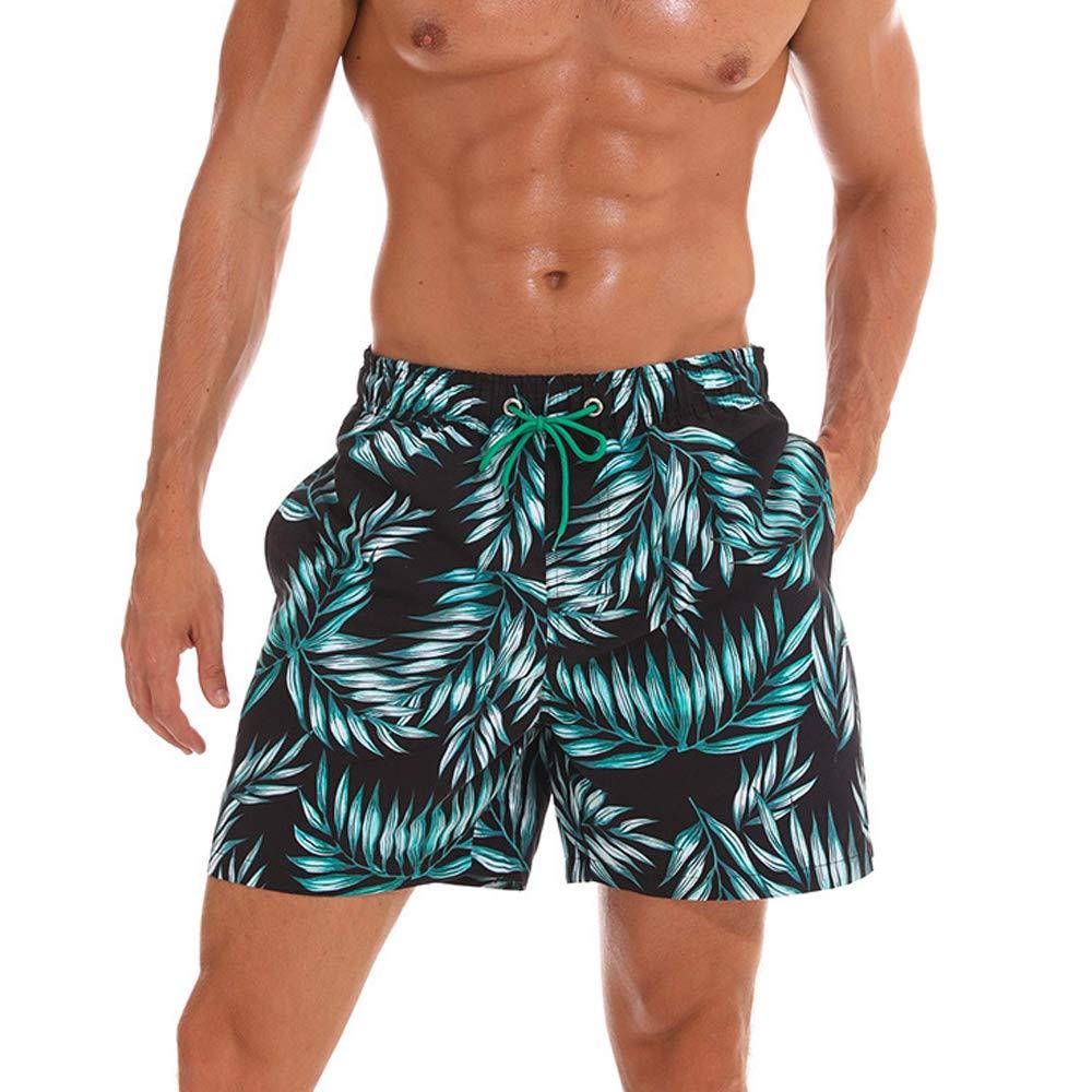 Homme Short de Bain Bermuda S/échage Rapide Gar/çons Court de Plage Sport Natation Casual avec Poches
