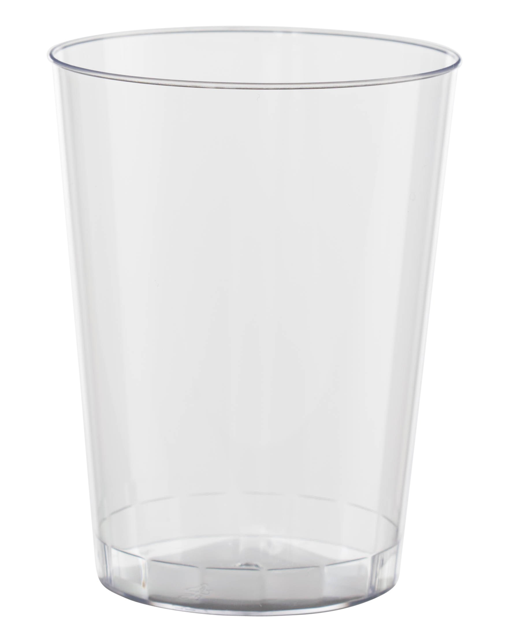Exquisite 500 Count 8 Oz. Elegant Clear Plastic Cups - Crystle Clear Party Wedding Tumblers