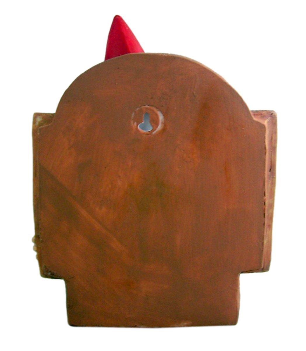 Grumpy Gnome Go Away Wall Plaque 8.75 Inch