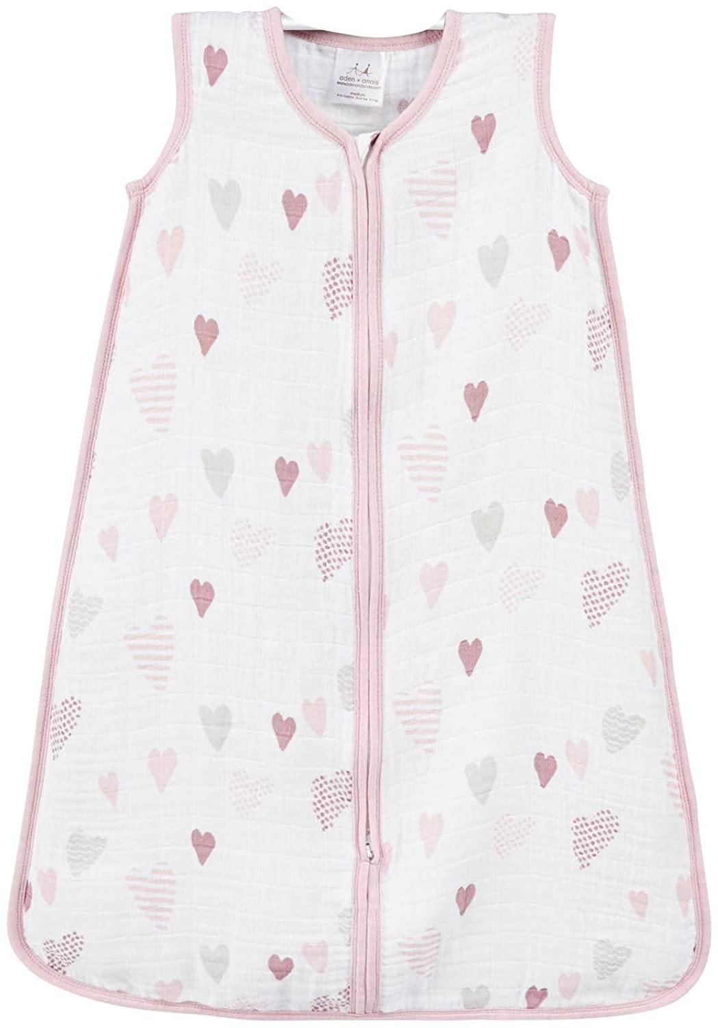aden + anais Classic Sleeping Bag - Heartbreaker - Small