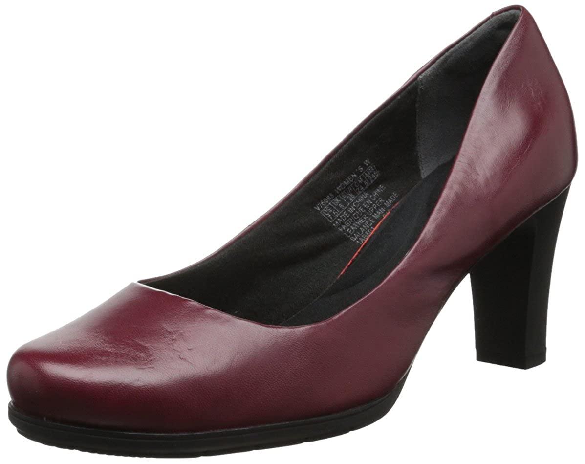Cordovan Smooth Leather Rockport Women's Total Motion Pump