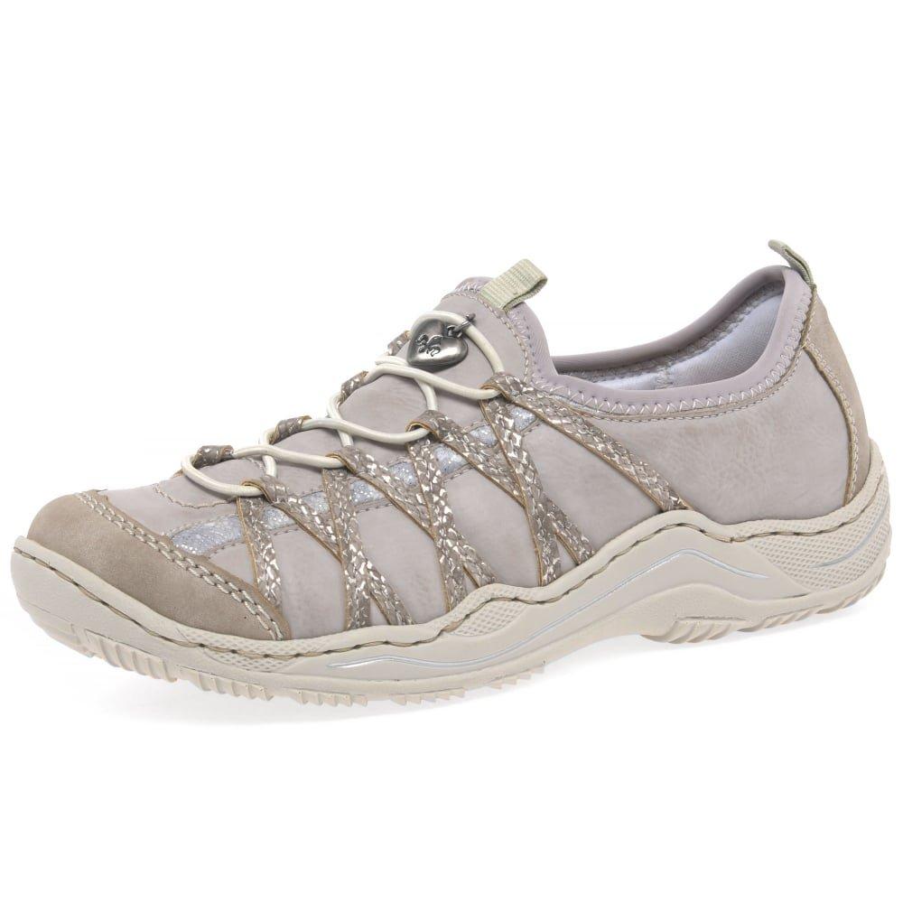 Rieker L0559, Zapatillas para Mujer 38 EU|Vapour