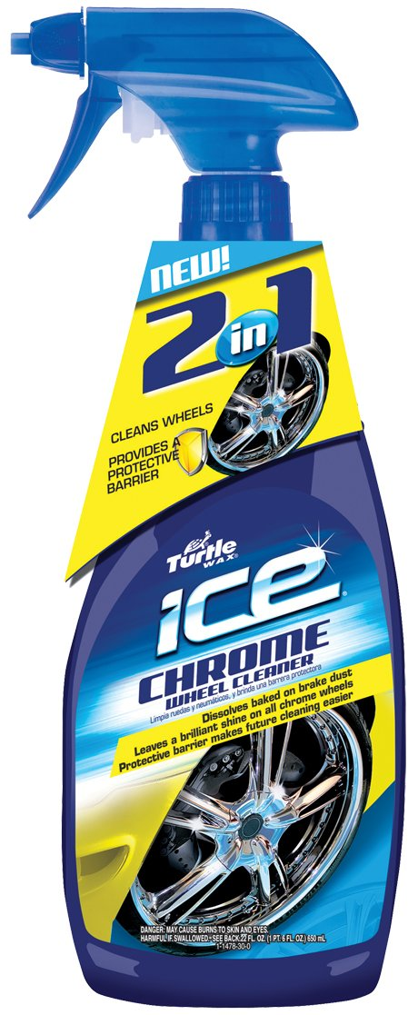 Turtle Wax T478 Ice Chrome Wheel Cleaner - 22 Ounce