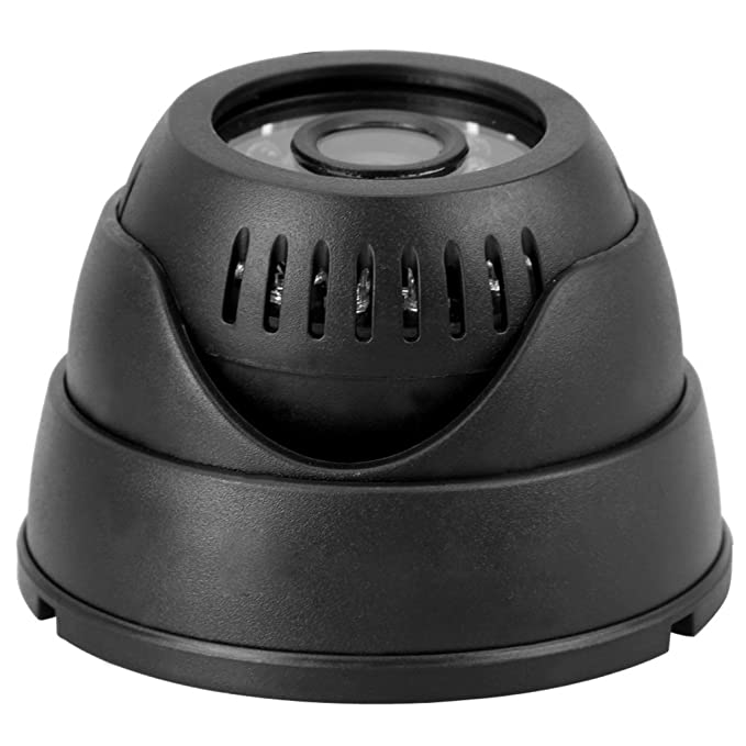 SODIAL(R) Camara cupula DVR 420 TVL Camara de seguridad nocturna Grabadora con tarjeta SD / TF mini Camara Interior Inalambrico: Amazon.es: Electrónica
