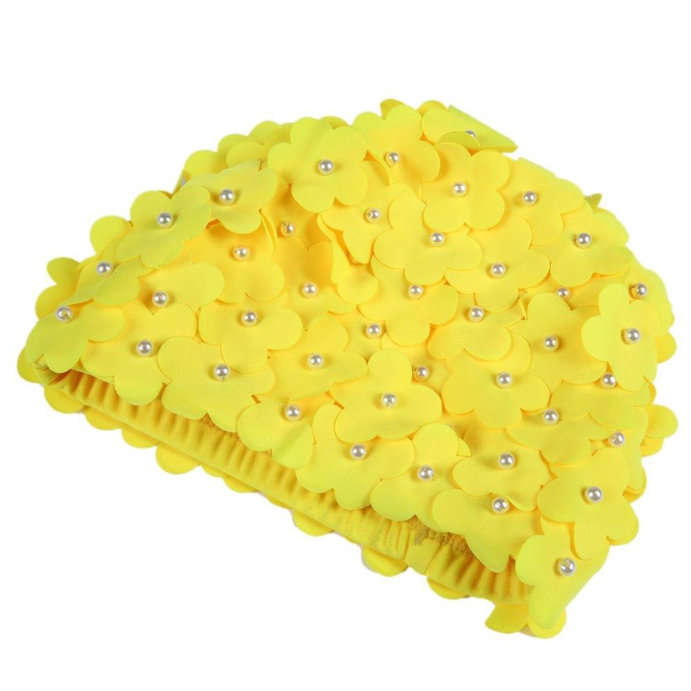 311dbfdb2 Smartcoco 3D Petal Stylish Swim Cap Hat Bathing Swimming Shower Flower Caps  Women