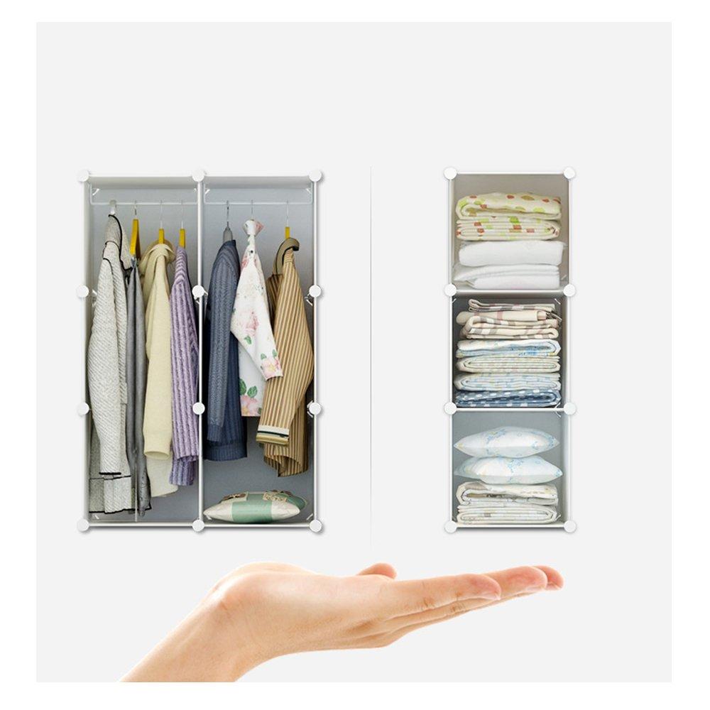 ETTBJA Würfel Schrank Lagerung Kleiderschrank für Schlafzimmer ...
