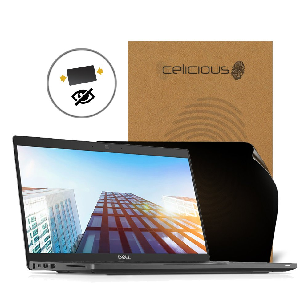 Celicious Privacy 2-Way Anti-Spy Filter Screen Protector Film Compatible with Dell Latitude 13 7390