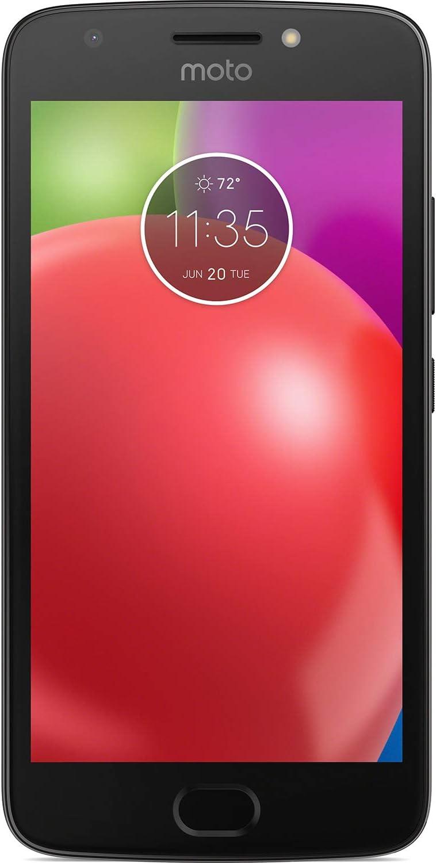 """UNREAL Mobile Moto E4 CPO Prepaid Carrier Locked LTE Smartphone, 16GB - 5"""" Screen - Black (U.S. Warranty)"""