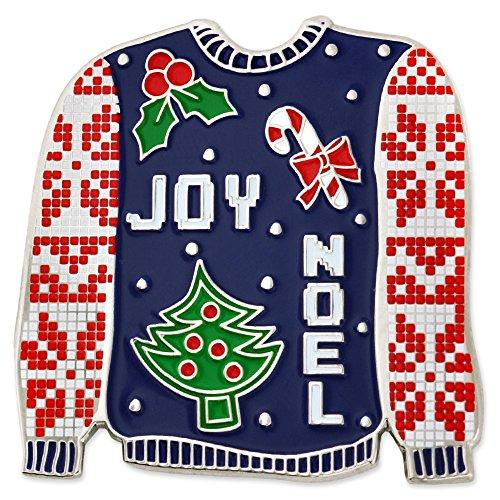 PinMart's Ugly Christmas Sweater Trendy X-Mas Enamel Brooch - Christmas Trendy