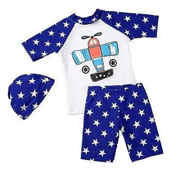 024ff5dca0edf monoii ベビー 水着 男の子 80 90 赤ちゃん 水着 ラッシュガード 水着 子供 セパレート 可愛い 帽子 セット