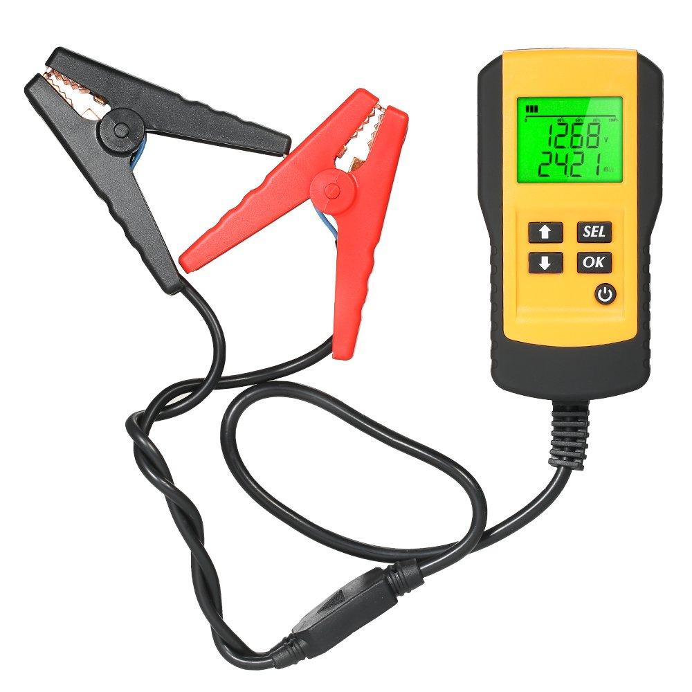 KKmoon 12V LCD Testeur de Batterie de Véhicule à Moteur d'Analyseur de Batterie de Voiture de Digital IFMSSVHU3626
