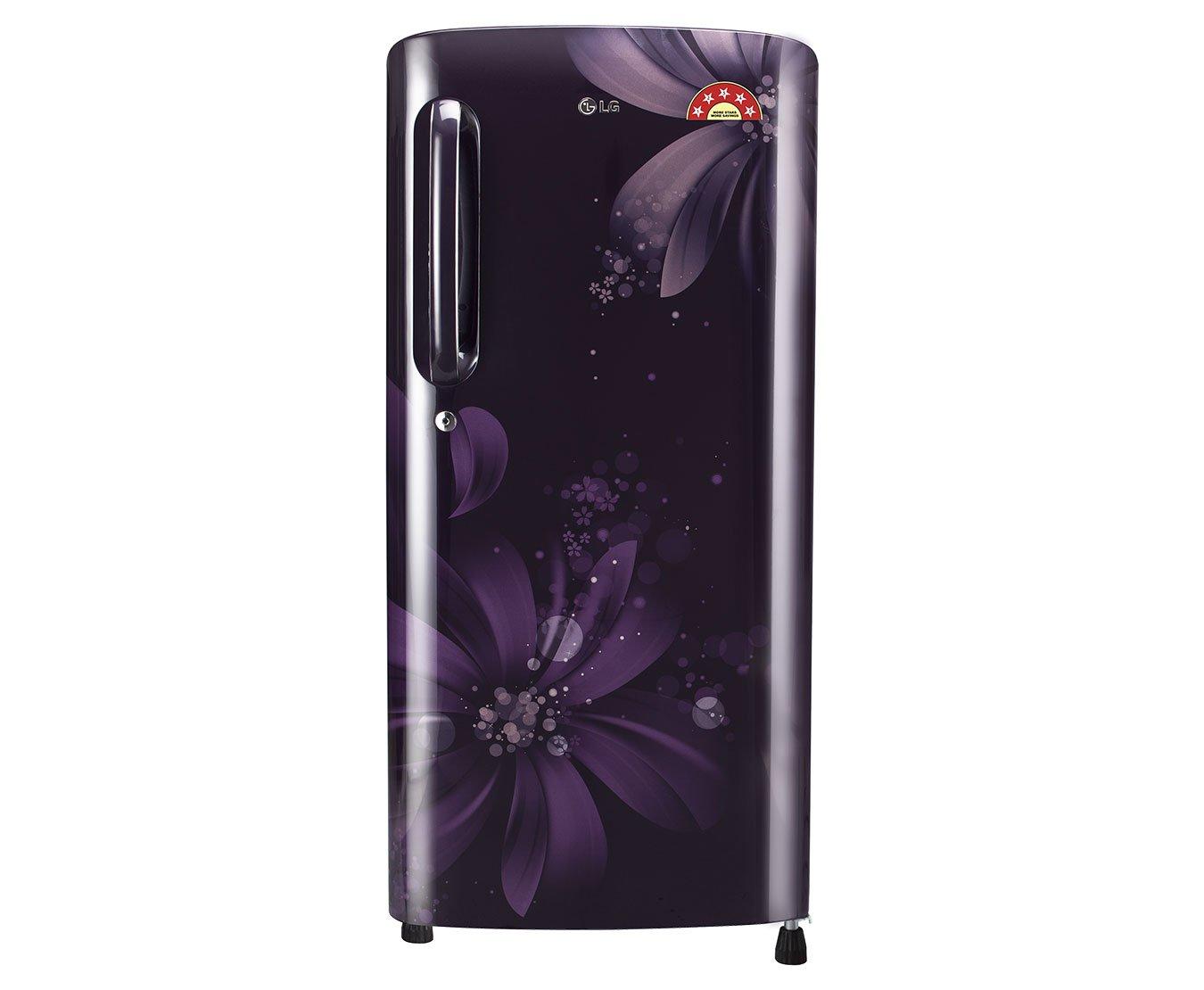 refrigerator amazon. lg 190 l 5 star direct-cool single door refrigerator (gl-b201apan.apazebn, purple aster): amazon.in: home \u0026 kitchen amazon