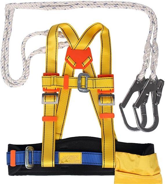 mhgao arnés de escalada, cinturones de seguridad montañismo dúplex ...