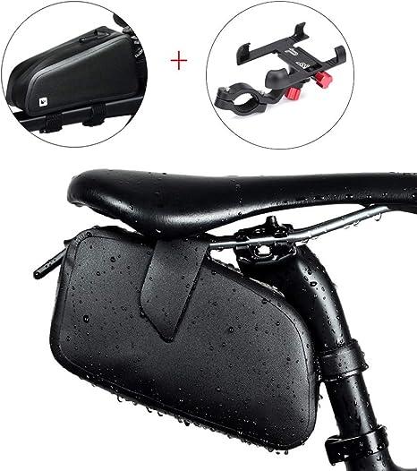 SADDLE BAG Conjunto de Bolsa Sillin Bicicleta Montaña Bolsa de ...