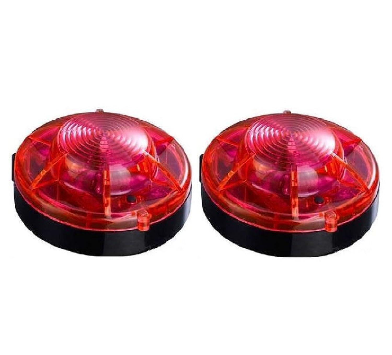 サンバイザー簡単装着/84LEDライトバー/フラッシュライトパトランプ/高照度SMD 12V/24V 赤青色【オートランド/AUTOLAND】