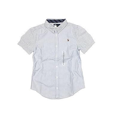 d2975507f Amazon.com  Polo Ralph Lauren Girls  Oxford Buttondown Shirt (12 ...