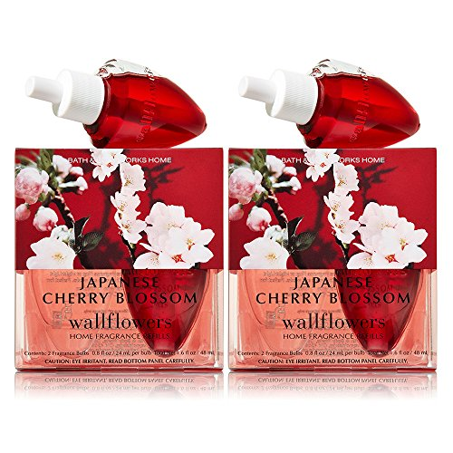 Bath and Body Works Wallflowers 4-Pack Refills (Japanese Cherry Blossom)