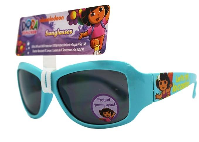 77e68263eb1d2 Image Unavailable. Image not available for. Color  Light Blue Let s Hit La  Costa Dora the Explorer Kids Sunglasses