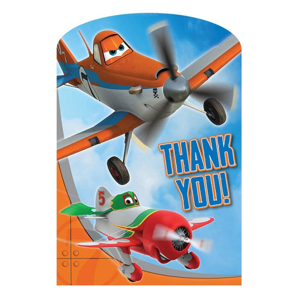 Disney Planes Postcard Thank You Cards