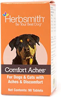 product image for Herbsmith Comfort Aches – Herbal Pain Relief for Dogs + Cats – for Pet Aches + Pains – Anti-Inflammatory Supplement