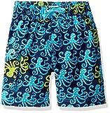 Hatley Boys' Little Board Shorts, Deep Sea Octopus, 2 Years