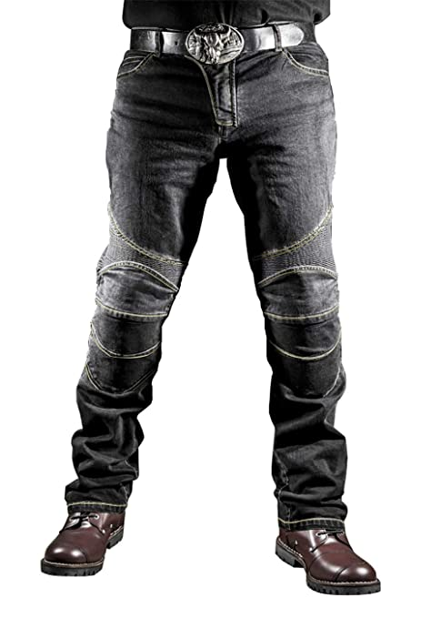 WildBee Bikers Motocross Riding Racing Pants Jeans ...