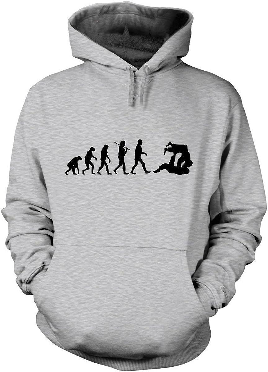 Shirtfun24 Herren Evolution Judo Kampfsport Karate Fun Hoodie