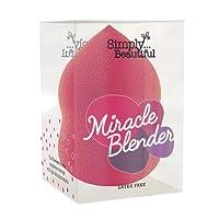 Make up Blender, Miracle Makeup Sponge : Latex Free, Tear Drop Shape in Vibrant Pink 1 x Blender Per Pack