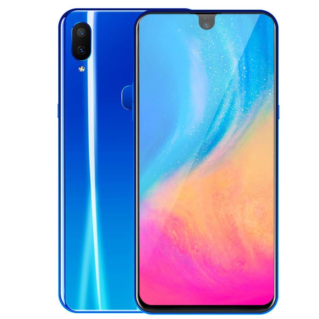 Unlocked Cellphones Smartphone | 6.2'' Full Screen Dual HD Camera GSM/WCDMA 3G WiFi Mobile Phone | 2GB RAM/32GB ROM Dual SIM Ultrathin Android 8.1 Cell Phones Telephones (Blue)