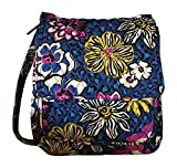 Vera Bradley Crossbody Mailbag (African Violet with solid purple lining)